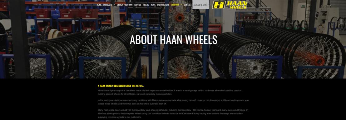 Haan Wheels kiest voor de Vitaliteitsmonitor