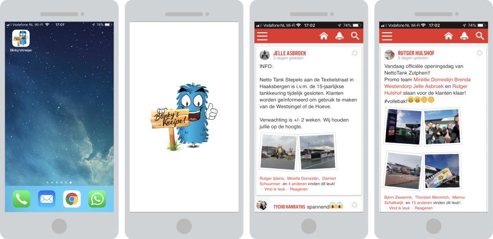 Blinky's Kneipe app live!