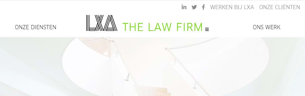 LXA The Law Firm aan de slag met Duurzame Inzetbaarheid