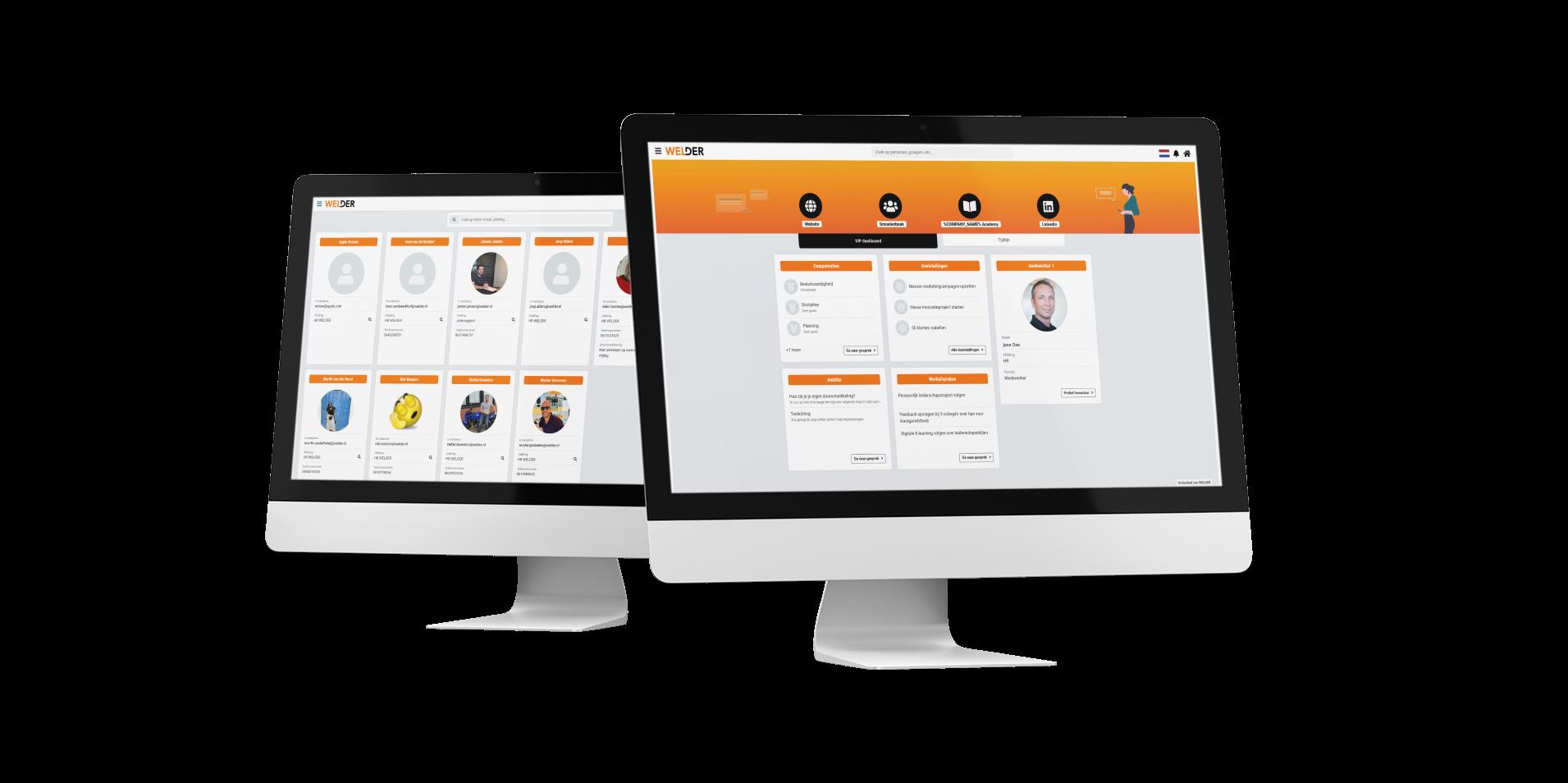 Nieuwe features: smoelenboek en persoonlijk dashboard