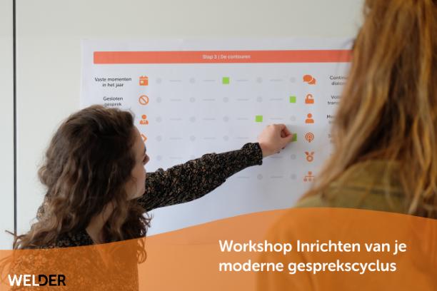 Workshop inrichten van een moderne gesprekscyclus